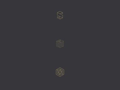 hexagonal logos