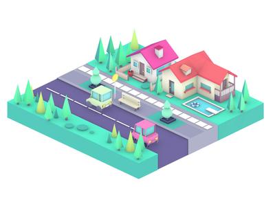 Tiny Neighborhood 🏡