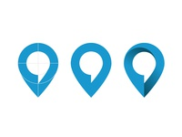 Location-pin & speech-bubble