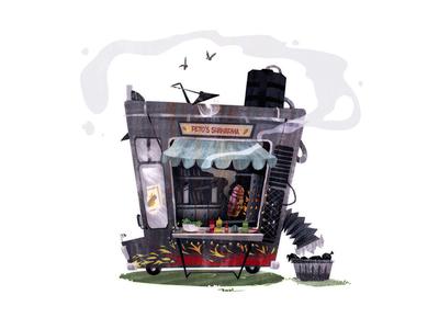 Food Truck graphicdesign digital photoshop illustrator design art illustration food truck foodtruck