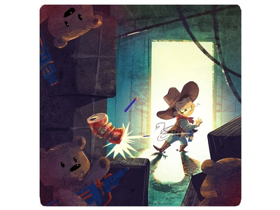 Cowboy truck photoshop illustrator illustration graphicdesign cowboy digital design art