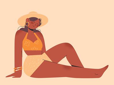 SUMMER #4 summer characterdesign illustration