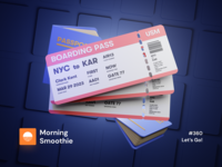 Let's Go! traveling travel airport flight plane boarding pass boardingpass boarding animation 3d animation isometric design 3d art low poly diorama isometric illustration blender blender3d isometric 3d illustration