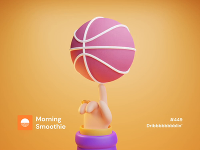 Dribbbbbblin' 3d artist lakers basketball dribble ball dribbble 3d animation studio 3d animation animation animated isometric design 3d art low poly diorama isometric illustration isometric blender blender3d 3d illustration