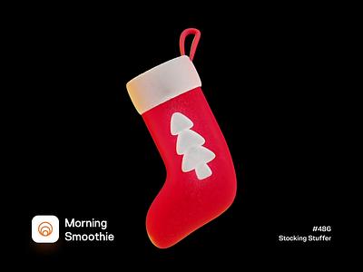 Stocking Stuffer animated animation holidayseason holidays stockings stocking christmas tree christmas card christmas isometric design 3d art low poly diorama isometric illustration isometric blender blender3d 3d illustration