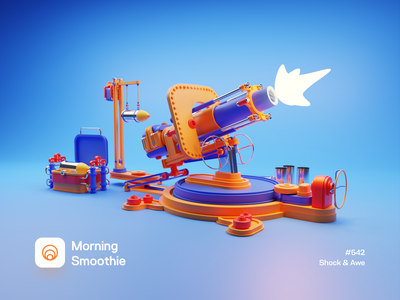Shock & Awe contrasting contrast colorful cannonball 3d modeling 3d animation 3d artist artillery cannon toy isometric design 3d art low poly diorama isometric illustration isometric blender blender3d 3d illustration