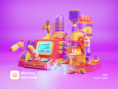 Like To Liquid pc desktop computer 3d artist like machinery machines 3d illustrator 3d artwork machine isometric design low poly 3d art diorama isometric illustration isometric blender blender3d 3d illustration