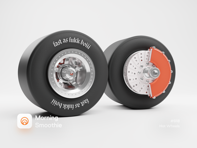 Hot Wheels brakes brake hotwheels speed fast wheel tire mechanical car wheels isometric design low poly 3d art diorama isometric illustration isometric blender blender3d 3d illustration