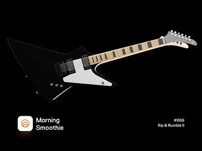 Rip & Rumble II gif music app music player music guitarist 3d animation animated animation guitar design diorama isometric illustration isometric blender blender3d 3d illustration