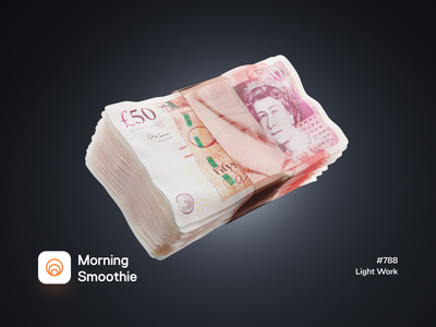 Light Work stocks value currency euro financeapp finance fintech papermoney money pound diorama isometric illustration isometric blender blender3d 3d illustration