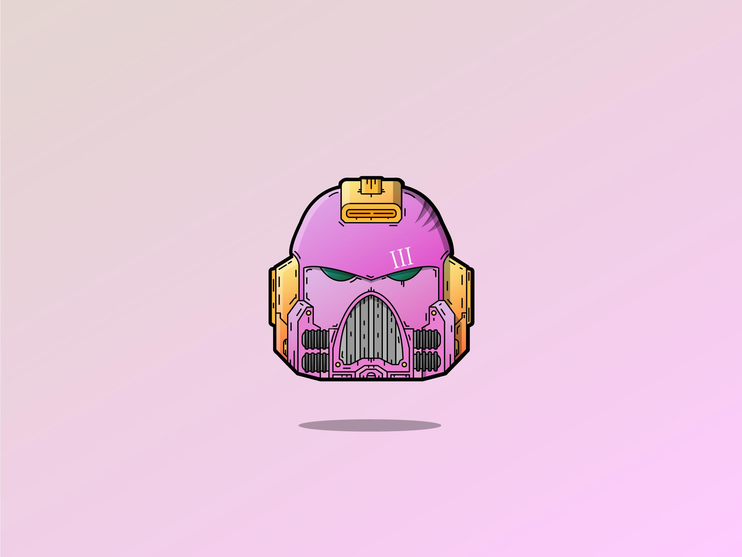 Spacemarine helmets