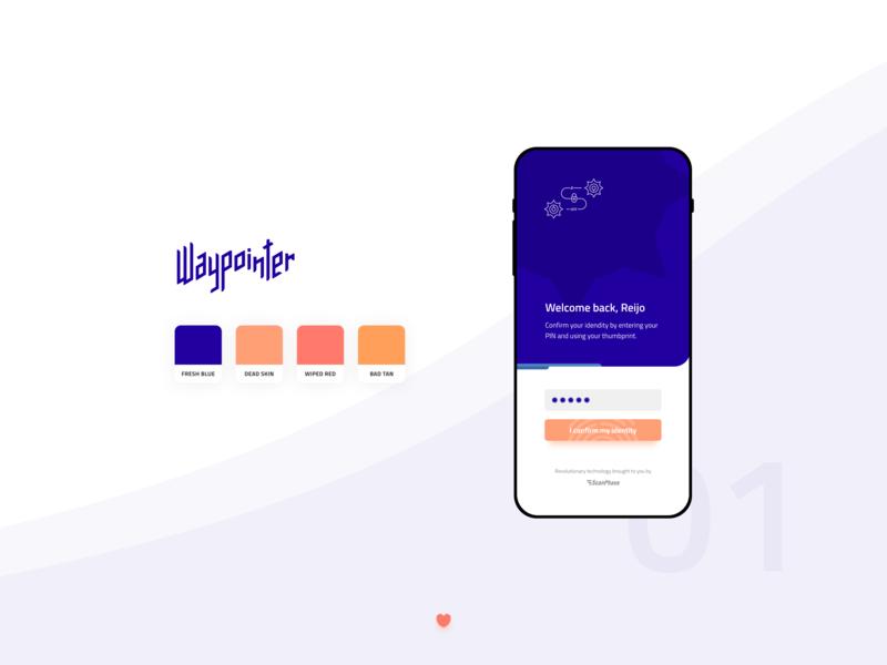 Login Sequence figma mobile prototype branding application webdesign login appdesign app