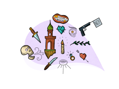 Items and Colors