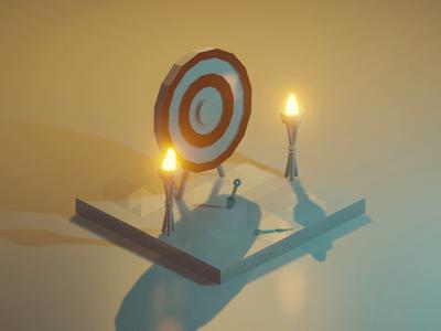 Target Range Animated