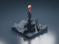 The Fortress of Barad-dûr