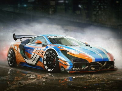 LifeRace - 1 race car race sportcar car art game gamedev tuning concept art design