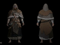 Life is Feudal - Priests Concept Art 1