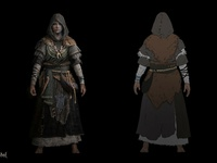 Life is Feudal - Priests Concept Art 2