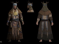 Life is Feudal - Priests Concept Art 3