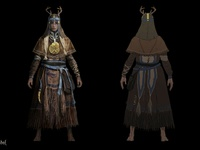 Life is Feudal - Priests Concept Art 4