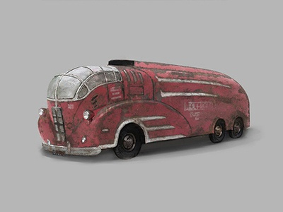 Agony of War Concept Truck
