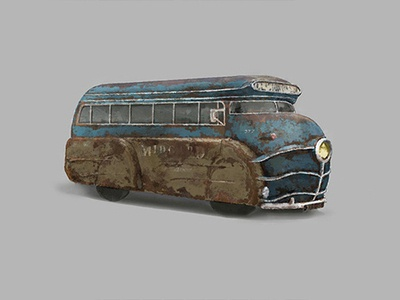 Agony of War Concept Bus