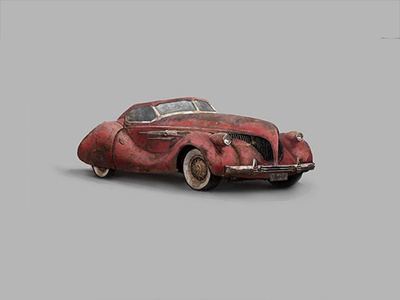 Agony of War Concept Car