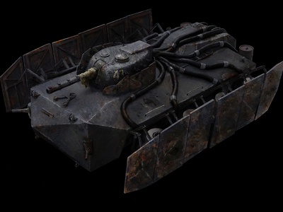 Agony of War Concept Tank