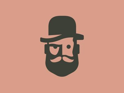 Ginetto Logo identity logo hipster dandy