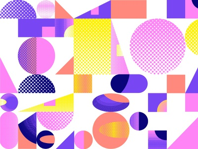 Illustration for No Code Conf webflow website vector design branding illustration
