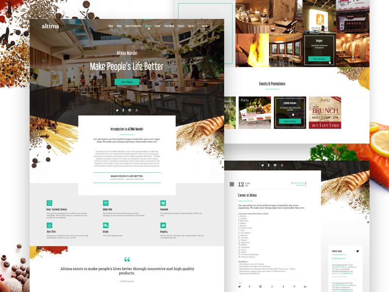Restaurant Company Profile By Gugun Gunawan