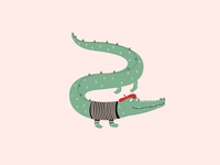 French crocodile