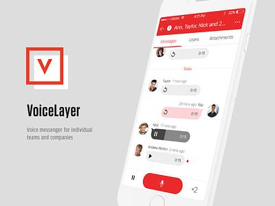 VoiceLayer UI iosdesign