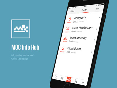 Info Hub iosdesign