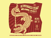 Event branding for Collective Arts Brewing