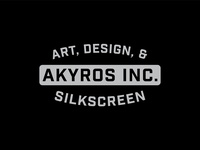 Logotype Akyros Inc.