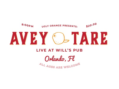 Avey Tare - Gig Signage