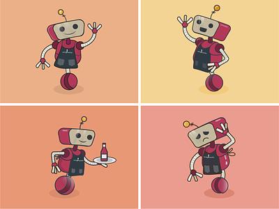 Vinnie - Character Design robots robot character characterdesign
