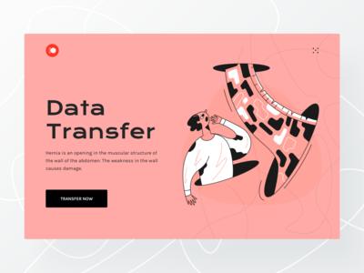 Data Transfer UI design