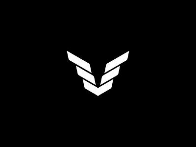 Civic Logo logo animation loader animation loader wing simple bold black motion design motion animation shapes v wings mark logomark logo