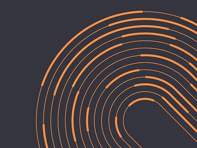 Loadsmith Brand Pattern paths revolve circle logistics trucking wheels tire road pattern identity brand identity brand branding shapes design animation motion design motion