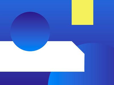Origin8 Brand Pattern idenity brand identity brand design brand simple view window yellow blue vector pattern circle shapes branding design animation motion design motion