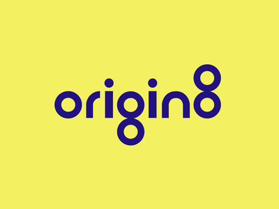 Origin8 Logo real estate dashboard origin identity brandidentity brand eight wordmark typography type logoanimation circle shapes logo branding design animation motion design motion