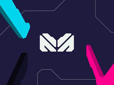Magmatic Mark typogaphy type loader idenity brand identity brand branding design pattern logoanimation lines bold shapes logo branding design animation motion design motion