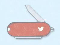Twitter knife