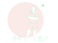 Kitty Dude Workout Routine