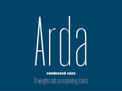 Font Arda | Шрифт Arda font cyrillic typography