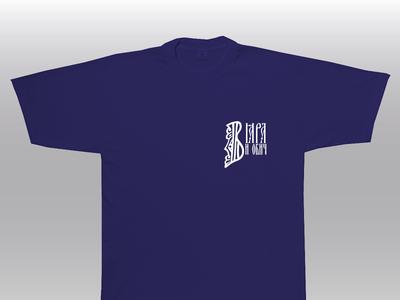 T-Shirt mockup Faith and Love design font cyrillic typography