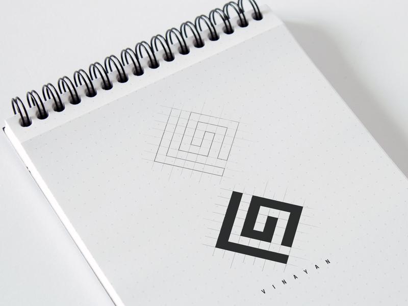 V9 - Hologram Logo vinayan branding logo illustration adobe illustrator photoshop