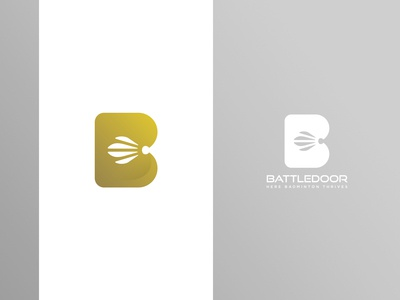 Battledoor Badminton Logo 1
